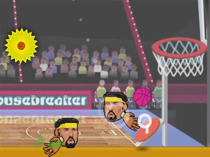 2 Kişilik Koca Kafa Basketbolu