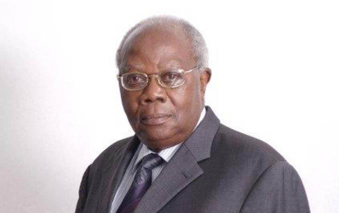 The late Ambassador, Fulgence Michael Kazaura