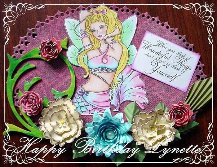 happy birthday to our sweet lady boss lynette at sweet pea stamps here is our surprise blog hopyou should get here from lea kimmel