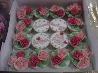 Cupcake Rose hantaran - Arifah