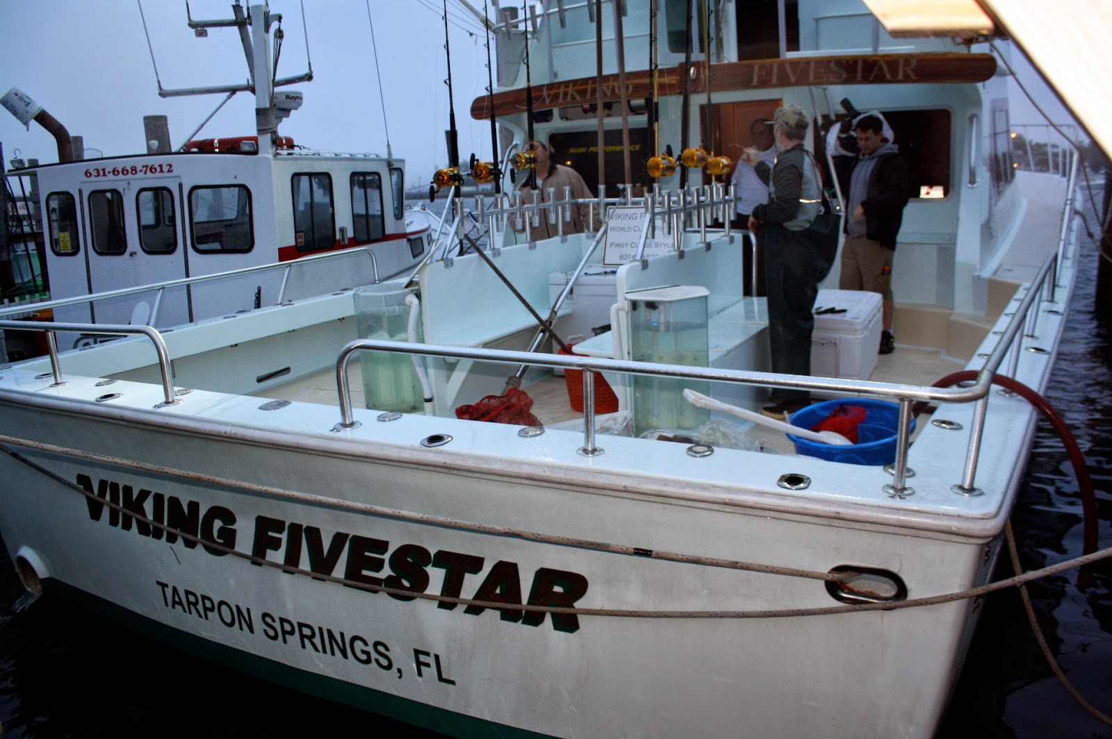 Viking fivestar fishing report day 1 star island yacht for Viking fishing report