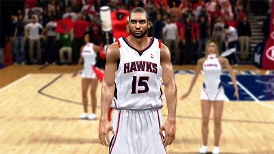 NBA 2K13 Al Horford Cyberface NBA2K Patch