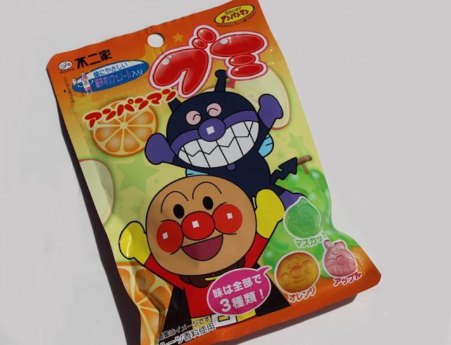 Anpanman Gummies