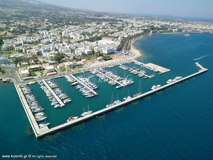 Kos Marina. Another perfect location for us to Survey your yacht.