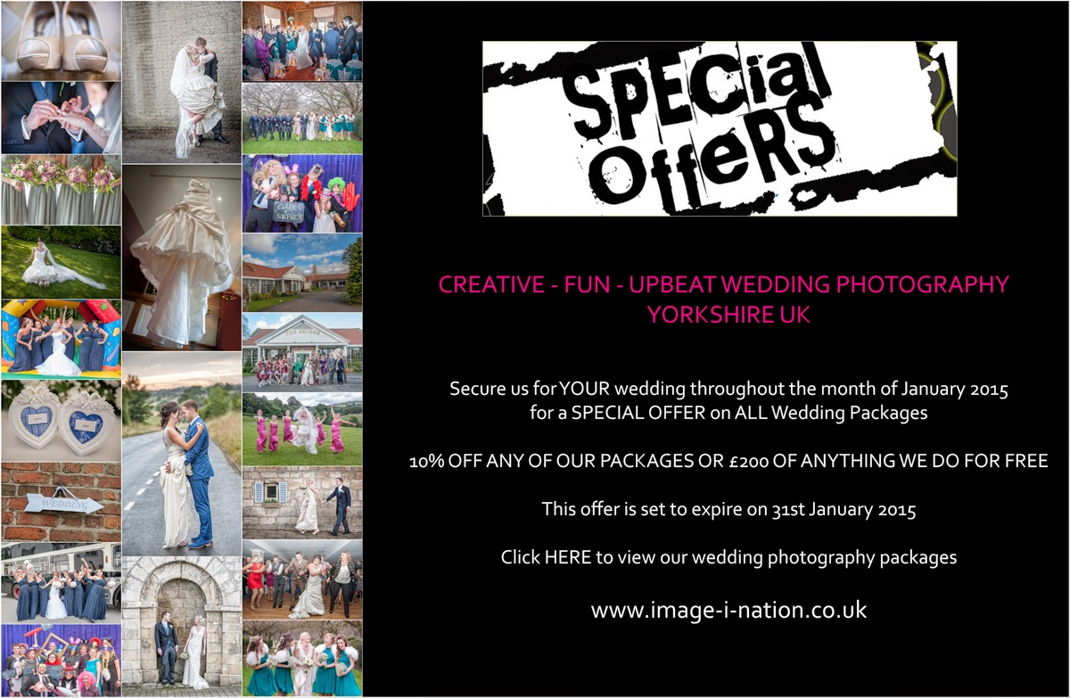 Wedding Photography Special Offers January 2017