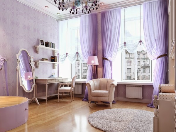 Curtain Color For Gray Walls Purple Curtains for Bathroom