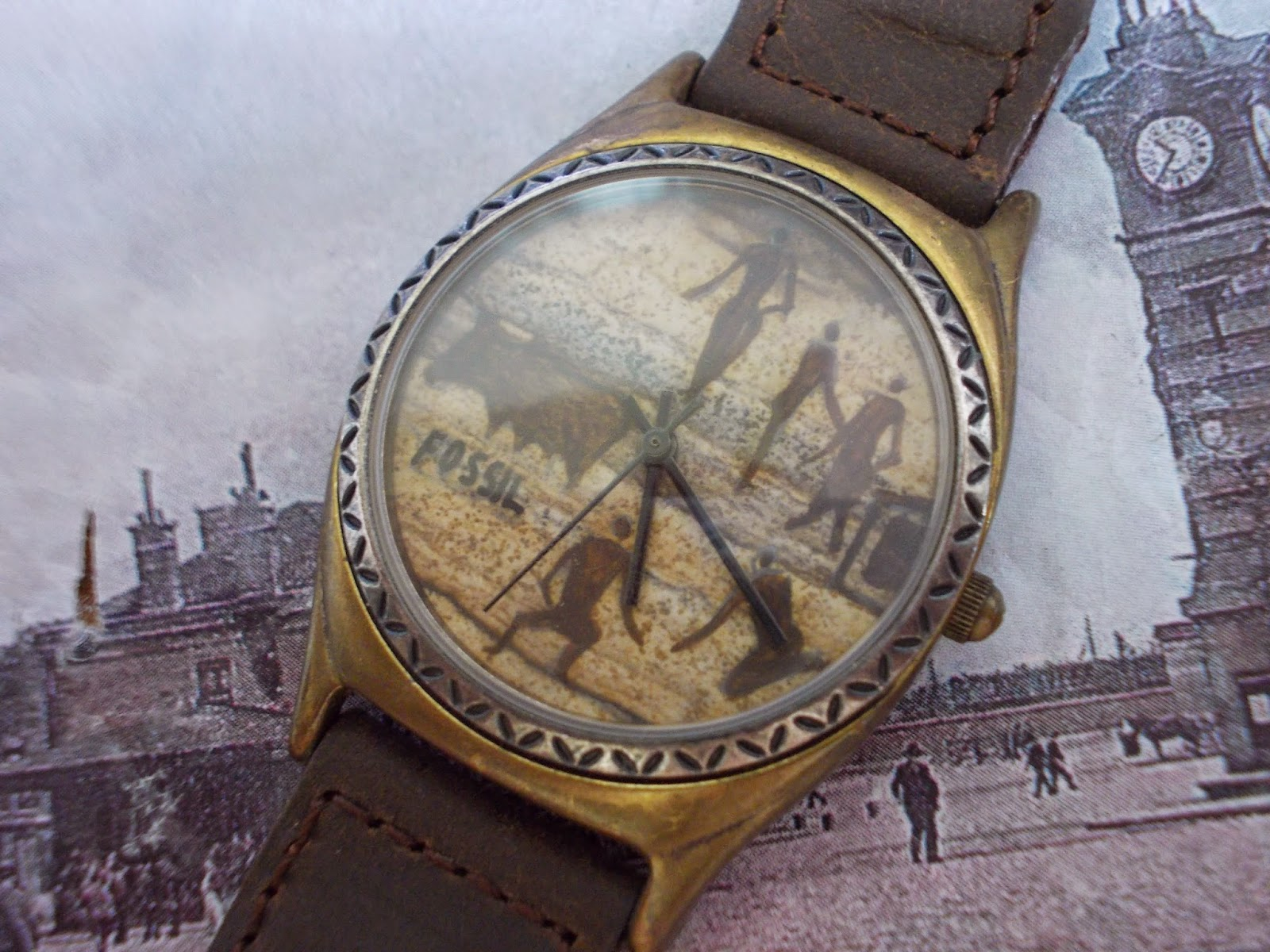 fossil vintage expedition watch eBay