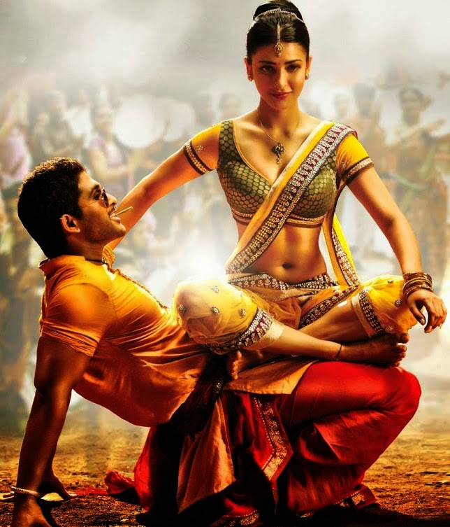 Shruti Hassan - Hot Photos from Race Gurram Movie 2014