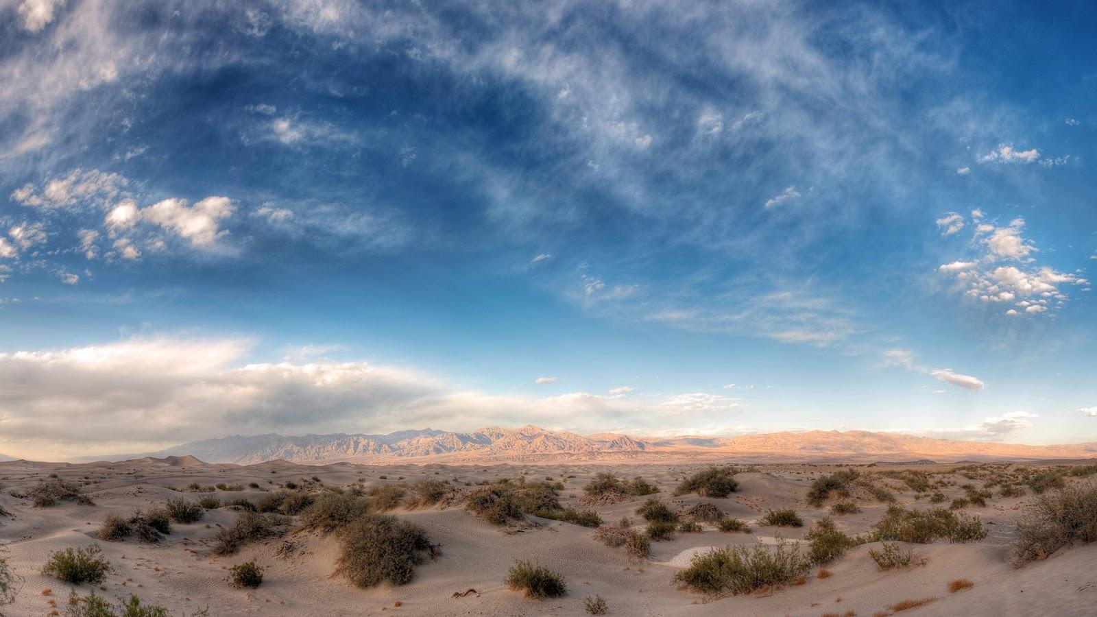 Sandy Desert Mountain