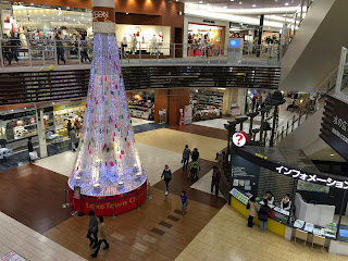 AEON LakeTown mori  クリスマスツリーイルミネーション