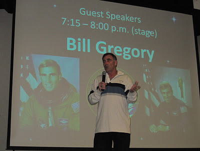 NASA astronaut William Gregory
