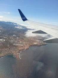 Leaving CANARY ISLANDS .....