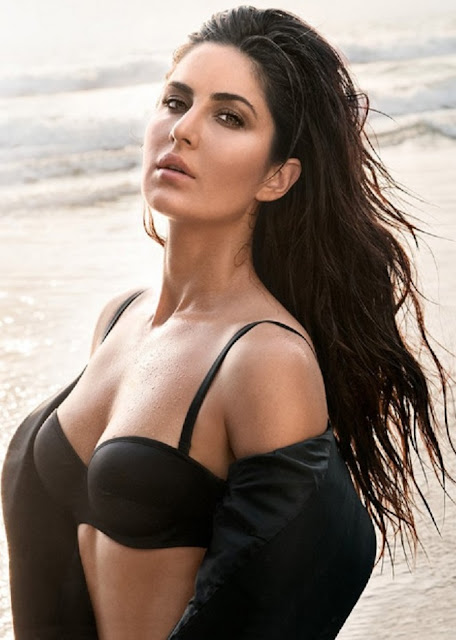 Bollywood Actress Katrina Kaif Hot GQ Photo Shoot Pics