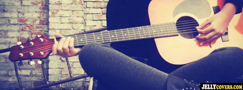 Pretty Book Cover Guitar ~ Capas para facebook violão e guitarra capa