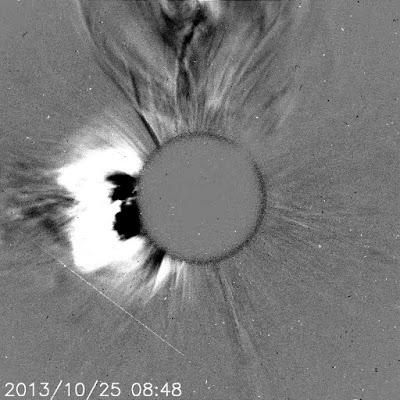 LLAMARADA SOLAR CLASE X1.7, 25 DE OCTUBRE 2013