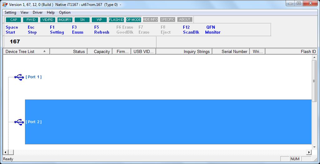 IT1167 MPTool 1.67.12.0 software