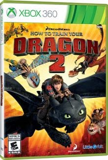 How to Train Your Dragon 2 NTSC XBOX360