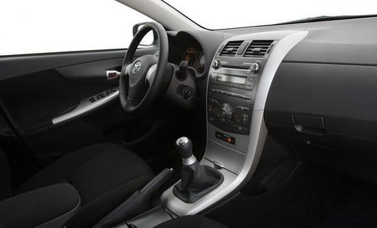 Toyota Corolla 2009 Interior