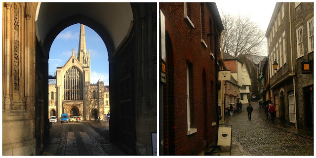 Norwich Cathedral and Tombland