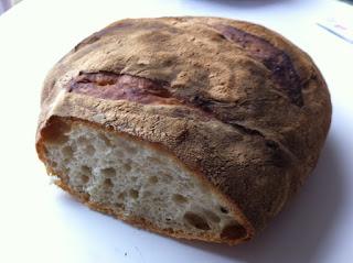 pain levain levure farine T65 cuisson 1 heure four traditionnel