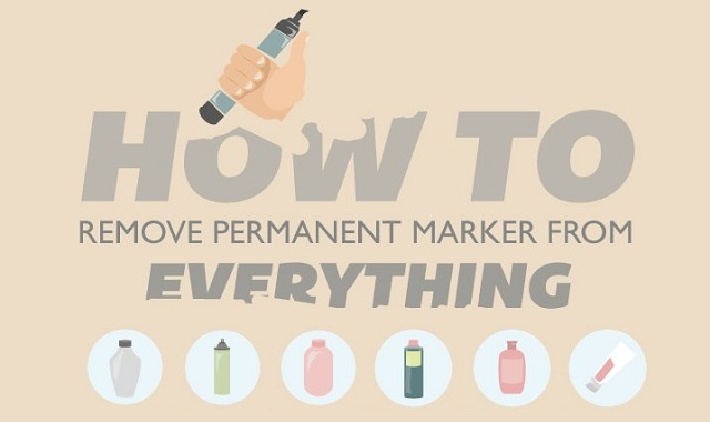 how to get permanent marker out of white carpet