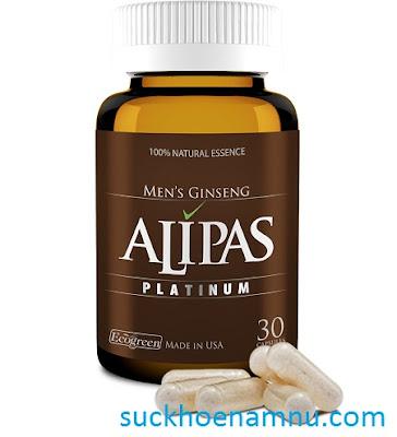 Sâm Alipas Platinum - Tăng cường sức khỏe sinh lý nam giới