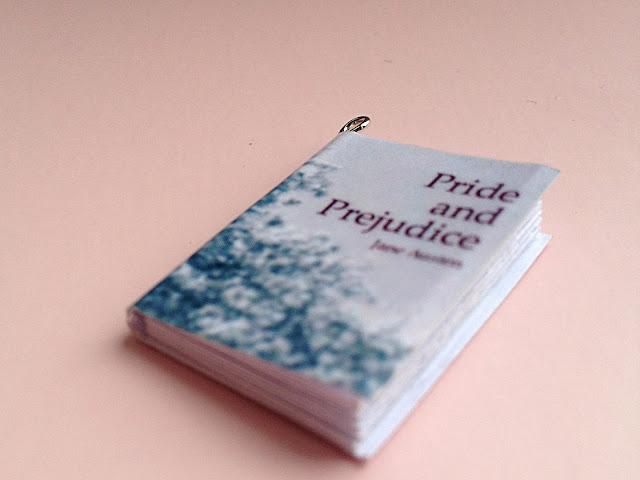 Mini-Buch Anhänger Pride and Prejudice