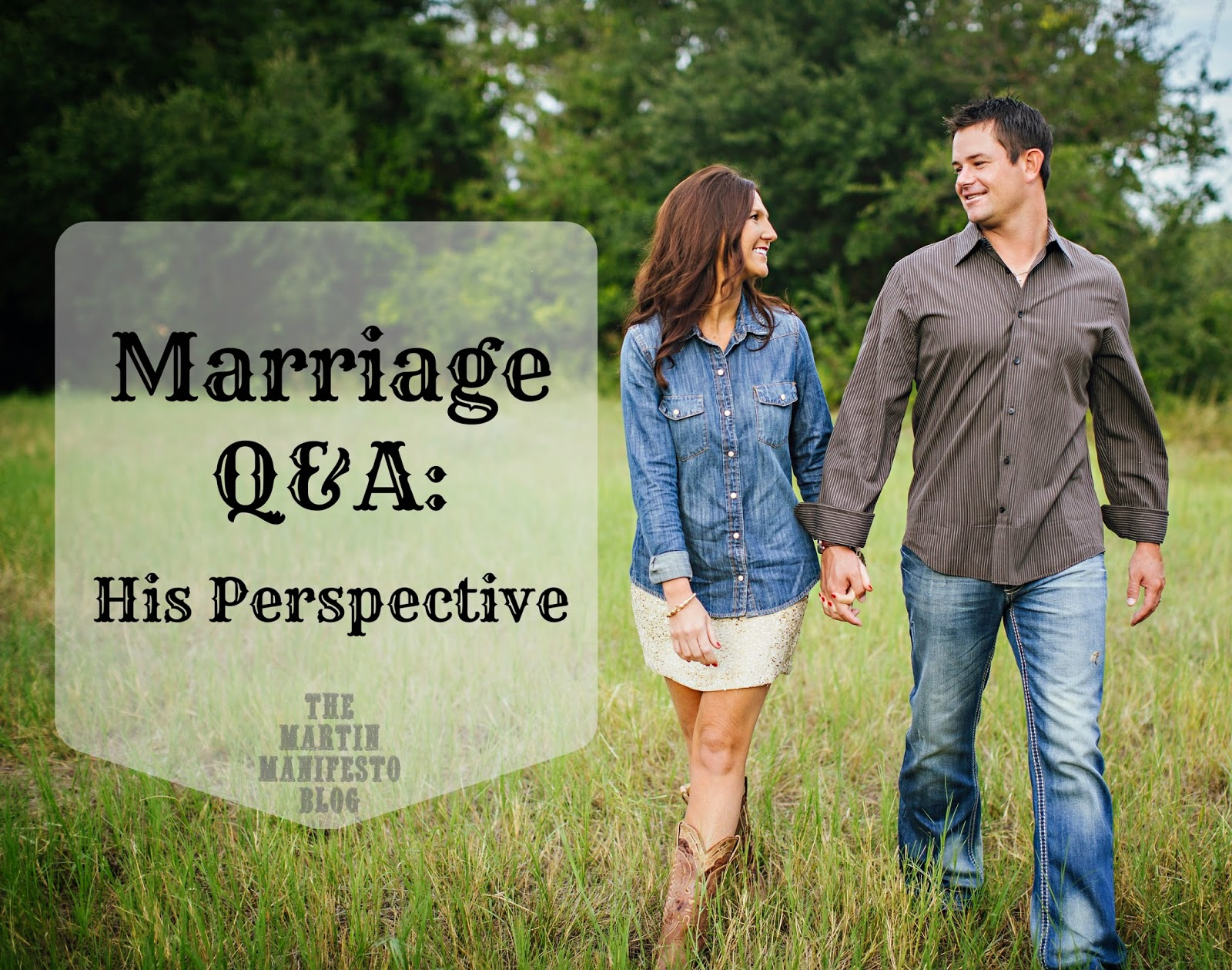 First Anniversary, Interview with Husband