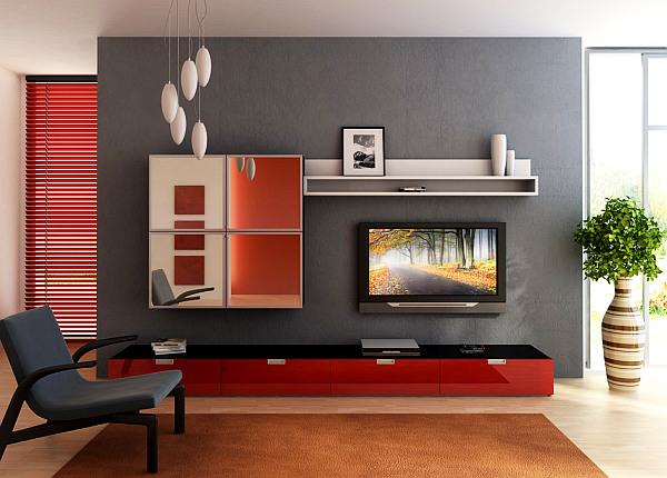 model desain ruang tamu minimalis modern model rumah modern