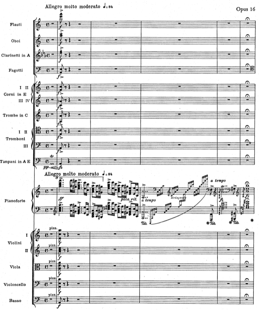 The music salon concerto guide edvard grieg piano concerto in a piano concerto that does not begin with a similar gesture and it is almost never found in pre 19th century concertos here is how the grieg begins hexwebz Choice Image