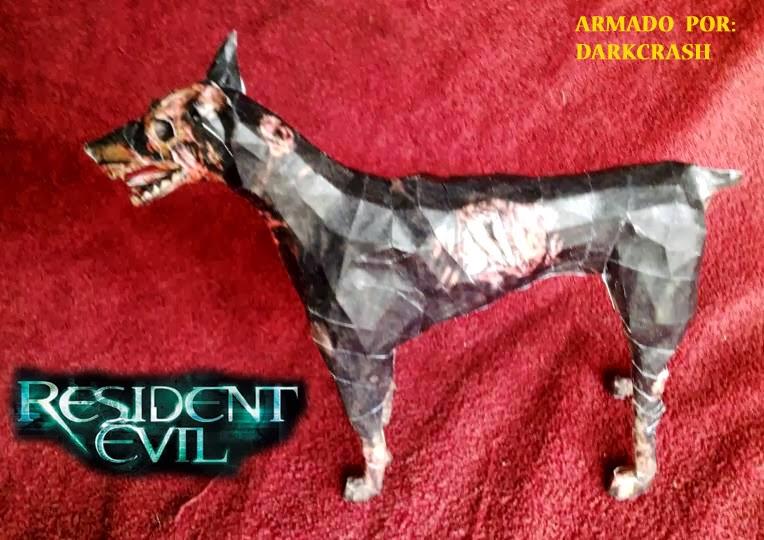 Resident Evil Cerberus Papercraft