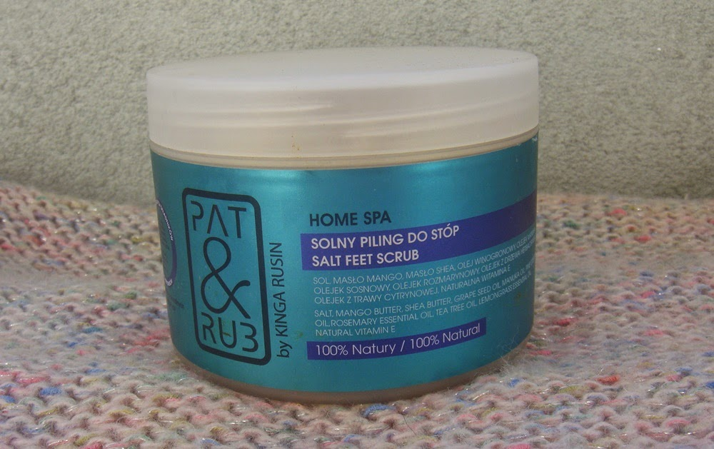 Pat&Rub Home Spa, solny piling do stóp