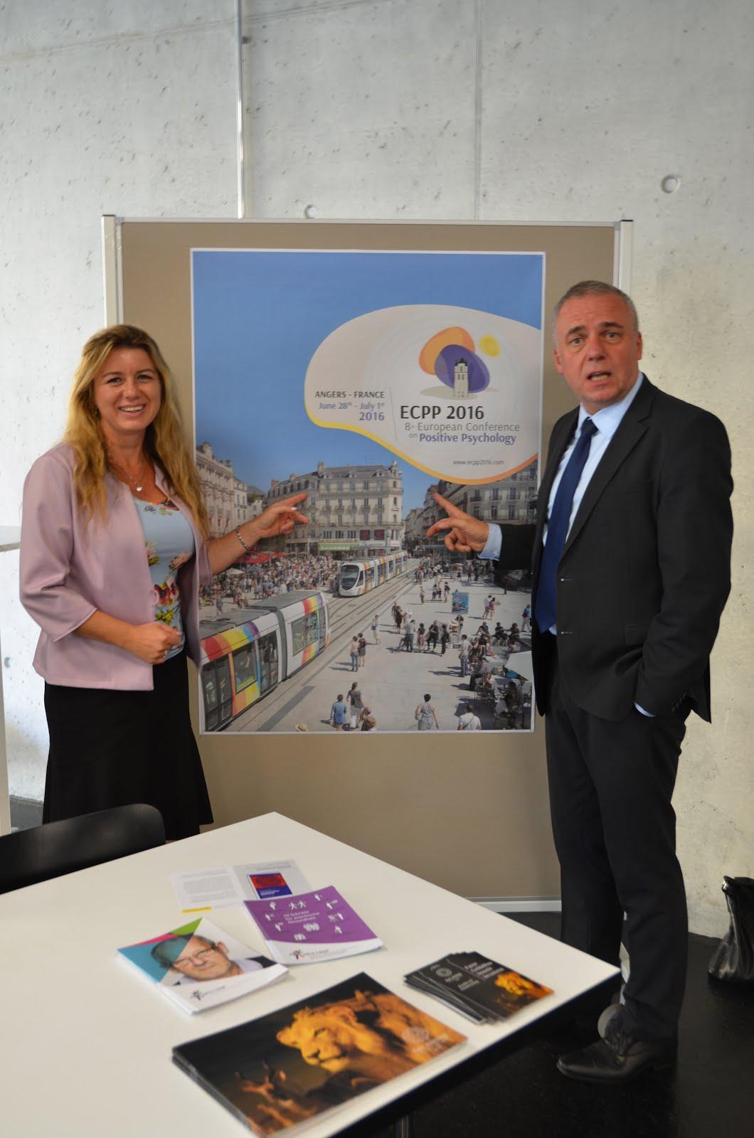 Promotion de l'ECPP 2016 lors du congrès sur l'espoir à Bern, en septembre 2015 !
