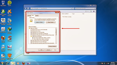 How to show hidden folder and files in windows 7 step10