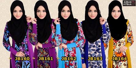 Koleksi Muslimah Paling Menawan Jubah Ayra Kini Available Dalam Pelbagai Size SS - XXXL