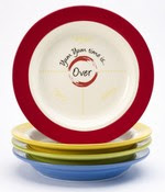YUM PLATES Luck of the Irish  Mommyhood Chronicles Yum Yum plates/bowls sets!