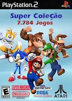 Super Coleção 7.784 Jogos – PS2