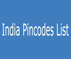 India Pincodes List