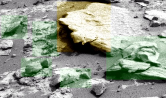 The gothic ruins of mars curiosity rover images show