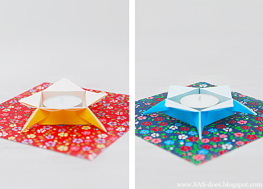 COOL ORIGAMI CANDLE HOLDER SAS doesCOOL ORIGAMI CANDLE HOLDER