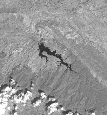Houay Lamphan Gnai on Landsat 8 image