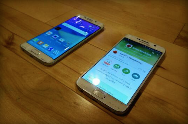 Samsung Galaxy S6 Edge Leaked Pictures | Specification