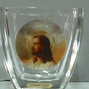 Buy The Light of the World Jesus Vase