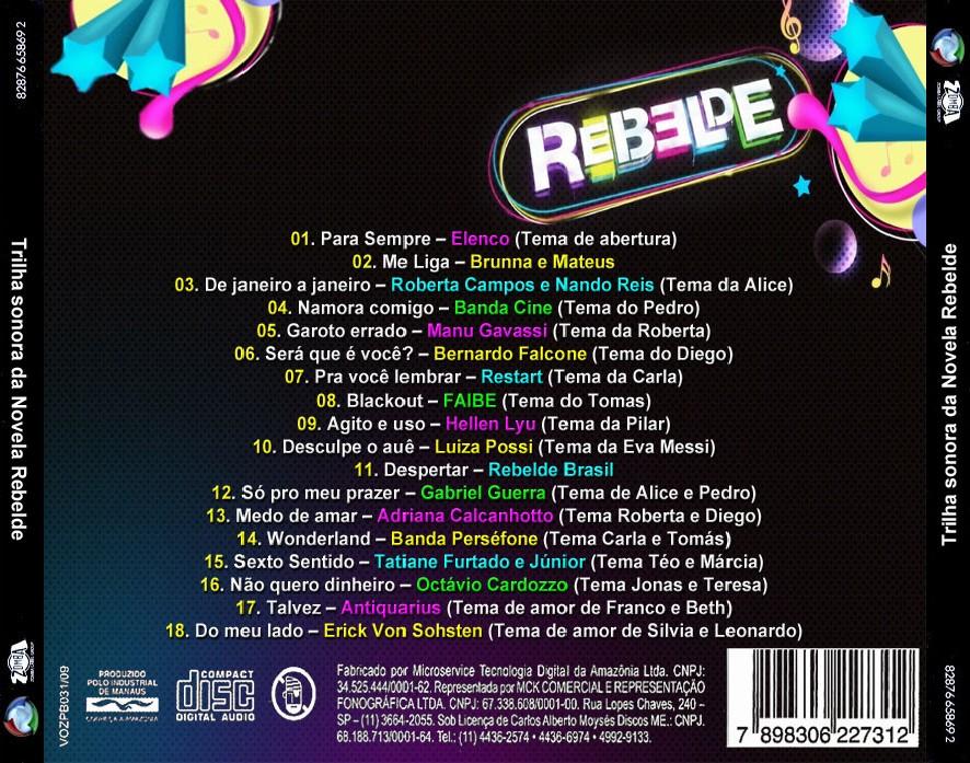 Download do cd rebelde brasil trilha sonora novela amor eterno amor