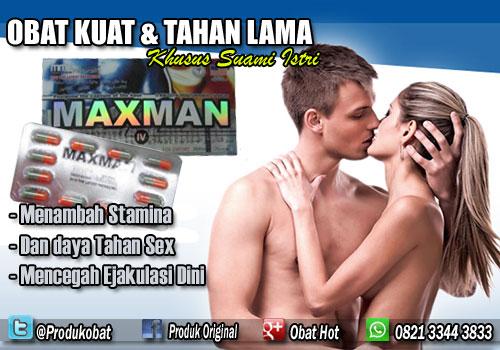 Obat Kuat Maxman Meningkatkan Kinerja Sexualitas Pria Yang Mempunyai Masalah Di Atas Ranjang.