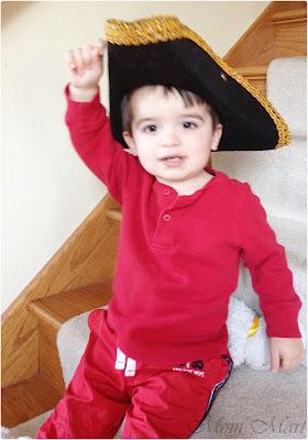 Playing Pirates - Captain Hook