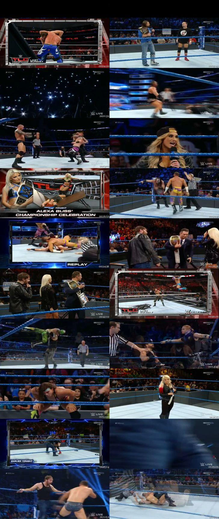 Screen Shot Of WWE SmackDown Live 6th December 2016 HDTV 480P 375MB