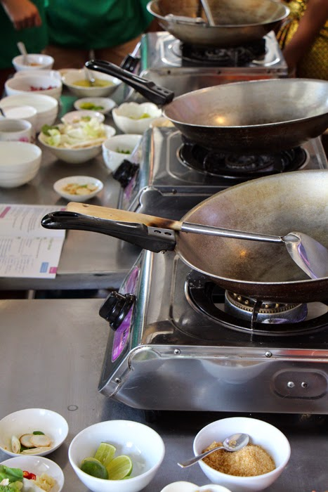 Woks in Thailand