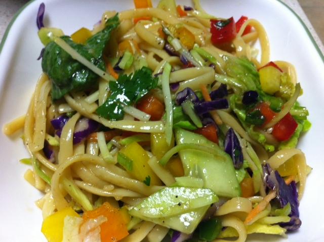 salad oriental cold noodle salad recipe yummly cold asian noodle salad ...