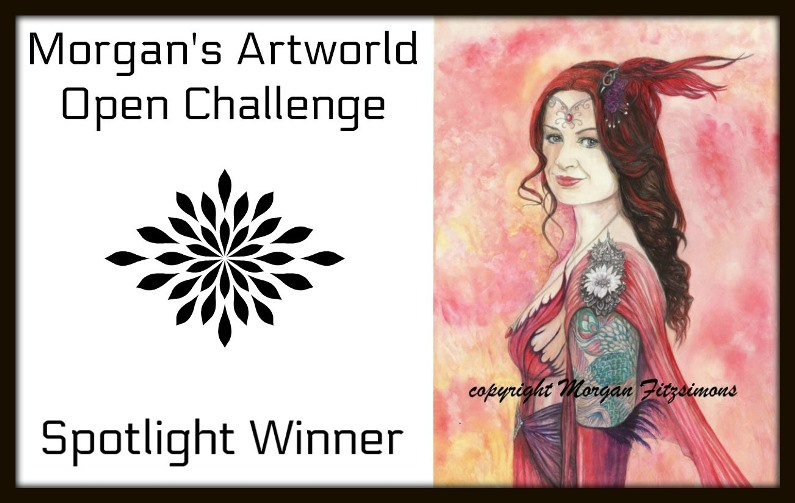 Spotlight Winner At Morgan's Art World Challenge